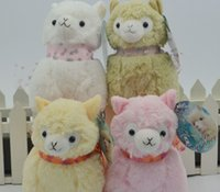 alpaca sheep - Japanese Arpakasso amuse Genuine Sheep plush toy alpaca with tags high Doll colors Toy cm plush doll toy