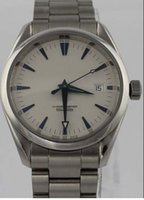 aqua terra watch - LUXURY WATCH AQUA TERRA AUTOMATIC CO AXIAL STEEL WHITE LARGE WATCH mm Wristwatches