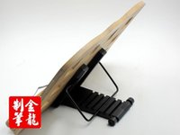 bamboo book shelf - Bamboo shelf folding placed on a wooden frame and easy to read book JL SJ002 booder holder