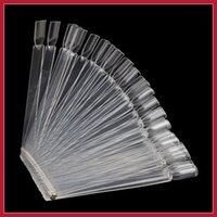 affordable art - Affordable bottomprice False Nail Art Tips Stick Display Practice Fan Board High Quality Bottom price