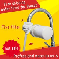 Wholesale New carbon faucet water filter ceramic cartridge water purifier filters for household charcoal purification treatment system ro