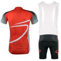 al por mayor orbea babero-2015 ORBEA ropa de ciclo del babero jerseys cortos fijan los pantalones de verano transpirable traje de la ropa de la bici acolchado S-3XL