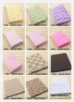 Wholesale 63 Assorted Pre Cut Charm Cotton Quilt patchwork Fabric Best Match Floral Dot Grid x50cm per sheet Pick your own colors