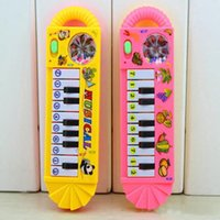 Wholesale Baby Infant Toddler Kids Musical Piano Developmental Toys Early Educational Game