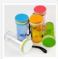 Wholesale 350ml new Brand design water bottles Plastic Creative portable Sports space cup Out door Top Qulaity S149