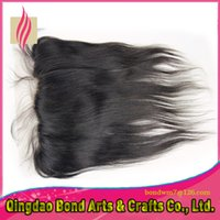 Wholesale HOT Selling Fashion Texture A grade vrigin hair free parting lace frontal natural color available