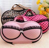 Wholesale P0343 underwear storage box covered bra box panties socks travel portable bra bag