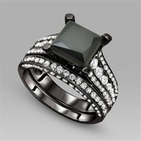Cheap wedding ring Best black sapphire