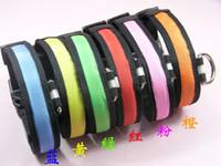 Wholesale hot new discount flashing LED dog collar led pet collar