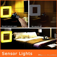 Wholesale Sound And Light Control Founder Table Lamps Energy saving Sensor Night Light Creative Home Desktop Lamp Strange New Piano Lamp NL027