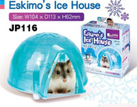 Wholesale Hamster s ice house hamster small house cool mouse house hamster cage pet cage rabbit house