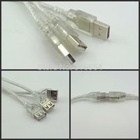 Wholesale DHL FEDEX EMS Shipping USB Male to Female Extension Cable Copper Core Premium Quality