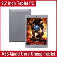 9.7 inch ips capacitive - Hotselling Allwinner A33 Quad Core GHz Tablet PC inch IPS MP Camera GB RAM GB ROM Android Tablet PC
