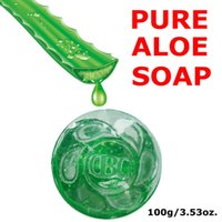 Wholesale 24K Gold Aloe Soap Anti Acne Soap Acne Removal Acne Cleanser Scars Remover g Skin Care