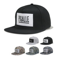 Wholesale New Arrival pigalle hi hop cap men s and women s Famous brand cool cap amp hat Outdoor Fashion cheap baseball cap