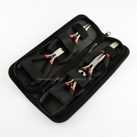 bending and cutting - Steel Pliers Sets DIY Jewelry Tool Kit with Round Nose Wire Cutter End Cutting Side Cutting and Bent Nose Plier