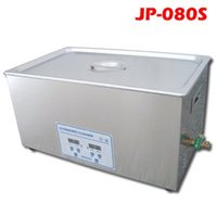 Wholesale JP S V V L Skymen Stainless steel digital ultrasonic cleaner Cleaning machine Withe Basket order lt no track