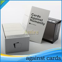 cards - Playing Cards a party game for HumanityGame US Basic Edition Cards top selling for Big Kids DHL Free
