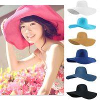 Cheap Summer Sun Straw Hat Cap Best Cheap lady's sun hat