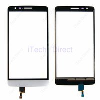 Cheap 10pcs Free HK Post Shipping Touch Screen Glass Replacement For LG G3 Mini D722 D725 Touch screen Digitizer with Flex Cable