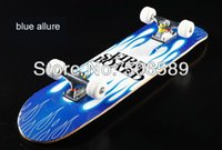 allure blue - high quality skate board maple wood nine layers blue allure cm