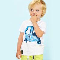 baby animals list - 2016 Sale Dinosaur Kids Mini Rodini European And American Style Brand Children Summer New Listing Tee T shirt Quality Baby