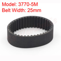 Cheap New 5M Type 3770-5M Synchronous Rubber Belt 25mm Belt Width 5mm Pitch for 5M Timing Pulley