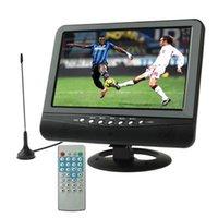 9.5 pulgadas a color TFT LCD TV analógica con ángulo de visión amplio, tarjeta SD / MMC monitor de la ayuda del coche, disco flash USB, AV / AV, la función de radio FM