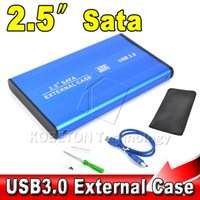 Wholesale 2015 Hot sale High Speed quot USB HDD Case Hard Drive SATA External Enclosure Box for PC Computer Laptop Notebook A5