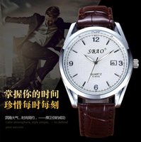 stainless steel manufacturers - Manufacturers selling stall fashion trendsetter brown belt Mens Watch retro fashion couple watches a pair of students