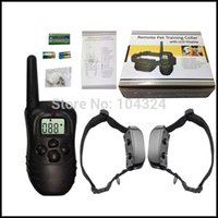fence wire - 300 Meters Remote Pet Training Collar For Dog With Retail Box