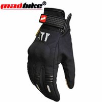 Wholesale Touch screen motorcycle gloves Men s Winter Outdoor Cycling Glove Full Finger Gloves for Smart Phone