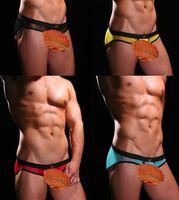 Cheap Men gay underwear Best Modal Briefs gauze silk