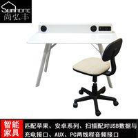 Wholesale Smart furniture desktop computer desk corner desk Cheap minimalist modern home desk Continental Sound