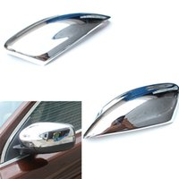 Wholesale Car Styling Side Mirror Cover Rearview Mirror Cover Trim For Volvo Xc60 Abs Chrome Per Set order lt no track