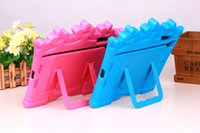 Wholesale 2016 new ipad case for mini stand candy colorful EVA anti shock fashion casual business high quality