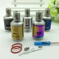 Wholesale Stillare RDA Clone RDA RBA mm rebuildable atomizer mod clone for mechanical mods ego evod vision spinner ego twist battery e cig