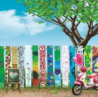 Wholesale Griffiti Wall Drawing Board X7ft Children Wedding Background Vinyl Backdrop Photography Backgrounds Photo Studio Backdrops