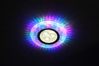 Wholesale Crystal resin lamp LED side emitting W corridor lamp inch downlight integrated background wall lamp bovine eye