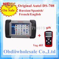 Wholesale 2014 Professional Autel Maxidas DS708 original Diagnostic Scanner autel ds708 maxidas Update online English DHL Free Hot On Sale