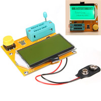 Wholesale High Quality Newest Diode Triode Capacitance ESR Meter MOS PNP LCR T3 Transistor Tester LCD Display