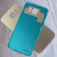 Wholesale Gold Rear Back Door Battery Cover Housing Case For Samsung Galaxy S6 G920