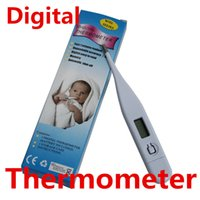 Wholesale Digital LCD Thermometer Degree Electronic Supremely Thermometers Clinical For Baby Child Adult Health Care Measure Body Temperature