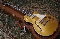 Wholesale 2015 New HOT strings electric guitar Custom Shop ES Ls Pul P Gold Top VOS guitar