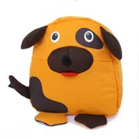 Wholesale Lovely Cartoon Dog Backpack Kids Bag Kindergarten Schoolbag for Girls Years Preschool Kids Bags Girls Cotton Fabric Dog School Bag