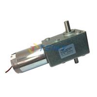 tsinymotor worm reducer - DC volt worm gear reducer motor v rpm high torque metal gear motor brush du motor