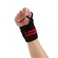 Wholesale Sports Wristband Gym Wrist Thumb Support Straps Wraps Bandage Fitness Training Safety Hand Bands