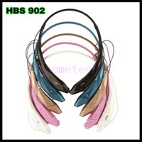 Wholesale New design HBS902 HBS bluetooth headphone sport neckband wireless bluetooth earphone noise canceling HBS bluetooth stereo headset