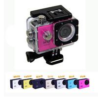 Wholesale Waterproof Inch LCD Screen sjcam SJ4000 style P Full HD Camcorders Helmet Sport DV M Action Camera vs sj7000 Gopro