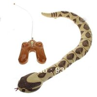 Wholesale Remote Control Snake Diamondback Rattlesnakes in High Quality and Low Price Yellow TBH